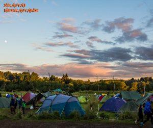 skautai neskautams stovykla