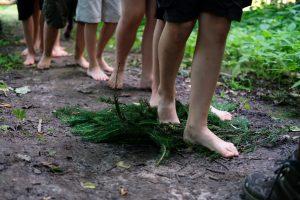 laikas gamtoje - skautai neskautams stovykla